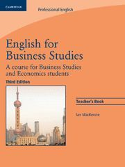 ENGLISH FOR BUSINESS STUDIES TEACHER'S BOOK 3RD EDITION