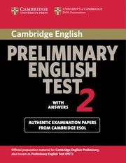 CAMBRIDGE PRELIMINARY ENGLISH TEST 2 STUDENT´S BOOK WITH ANSWERS 2ND EDITION