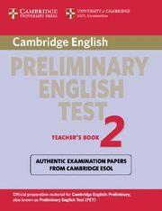 CAMBRIDGE PRELIMINARY ENGLISH TEST 2 TEACHER´S BOOK 2ND EDITION