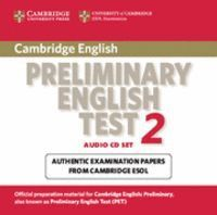 CAMBRIDGE PRELIMINARY ENGLISH TEST 2 AUDIO CD SET (2 CDS) 2ND EDITION