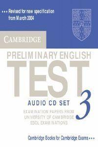 CAMBRIDGE PRELIMINARY ENGLISH TEST 3 AUDIO CD SET (2 CDS) 2ND EDITION