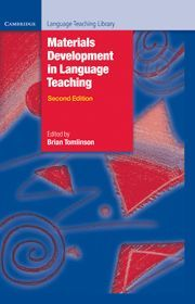 MATERIALS DEVELOPMENT IN LANGUAGE TEACHING 2ND EDITION