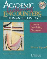 ACADEMIC ENCOUNTERS: HUMAN BEHAVIOR 2 BOOK SET (STUDENT´S READING BOOK AND STUDENT´S LISTENING BOOK