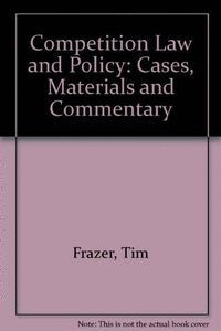 COMPETITION LAW POLICY CASES MATE