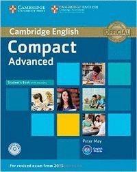 COMPACT ADVANCED STUDENT´S BOOK WITH ANSWERS AND CD-ROM