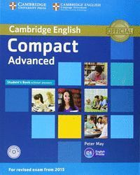 COMPACT ADVANDED STUDENT  WITHOUT ANSWERS CAMBRIDGE