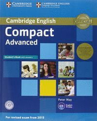 COMPACT ADVANCED SELF STUDY PACK (SB WITH ANSWERS + CD-ROM + CLASS CDS)