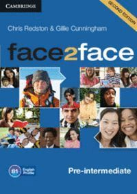 FACE2FACE PRE-INTERMEDIATE CLASS AUDIO CDS (3) 2ND EDITION
