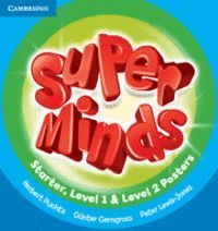 SUPER MINDS STARTER-LEVEL 2 POSTERS (15)