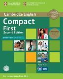 COMPACT FIRST STUDENTS PACK (STUDENTS BOOK WITH ANSWERS / WORKBOOK WITH ANSWERS 2015 EXAM