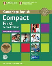 COMPACT FIRST STUDENT'S PACK (STUDENT'S BOOK WITHOUT ANSWERS WITH CD ROM, WORKBOOK WITHOUT ANSWERS WITH AUDIO) 2ND EDITION