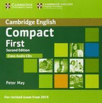 COMPACT FIRST CLASS AUDIO CD SECOND EDITION