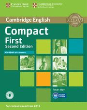 COMPACT FIRST WORKBOOK WITH ANSWERS WITH AUDIO 2ND EDITION