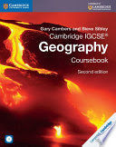CAMBRIDGE IGCSE« GEOGRAPHY COURSEBOOK WITH CD-ROM