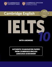 CAMBRIDGE IELTS 10 STUDENT´S BOOK WITH ANSWERS: EXAMINATION PAPERS