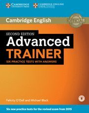 ADVANCED TRAINER SIX PRACTICE TESTS WITH ANSWERS WITH AUDIO (2015 EXAM)