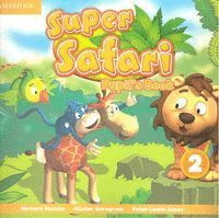 SUPER SAFARI 2 PUPIL´S BOOK BRITISH ENGLISH