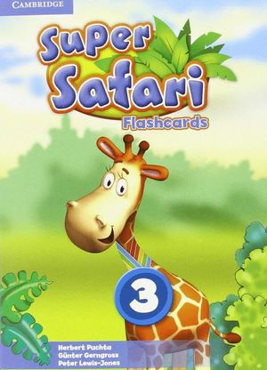SUPER SAFARI LEVEL 3 FLASHCARDS (PACK OF 78)