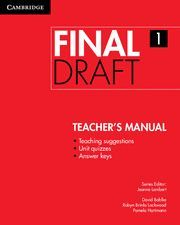 FINAL DRAFT LEVEL 1 TEACHER'S MANUAL