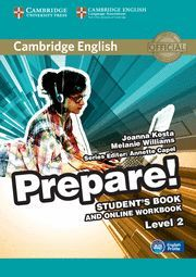 PREPARE! 2 STUDENT´S BOOK WITH ONLINE WORKBOOK