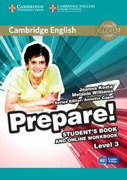 PREPARE! 3 STUDENT´S BOOK AND ONLINE WORKBOOK