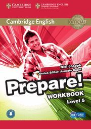 PREPARE! 5 WORKBOOK WITH AUDIO
