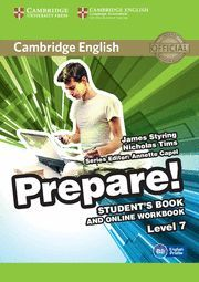 PREPARE! 7 STUDENT´S BOOK AND ONLINE WORKBOOK LEVEL 7