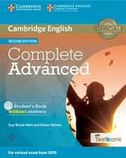 COMPLETE CAE 2ED SB/CD ROM/TESTBANK SECOND EDITION