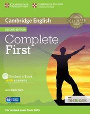 COMPLETE FIRST +CD B2 INTERMEDIO