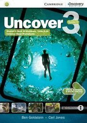 UNCOVER 3 WB COMBO B/ONLINE & PRACT. ONLINE 16