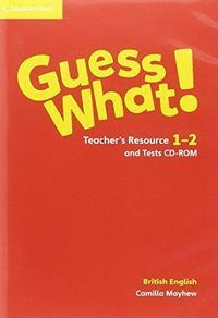 GUESS WHAT 1-2 EP TEACHER´S TEST CD-ROM 16