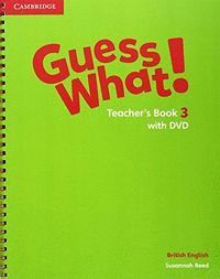 GUESS WHAT 3ºEP TEACHERS WITH DVD