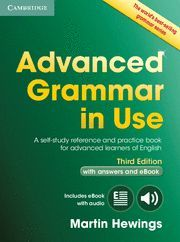 ADVANCED GRAMMAR IN USE BOOK WITH ANSWERS AND INTERACTIVE EBOOK 3RD EDITION
