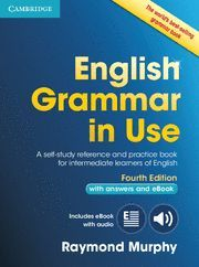 ENGLISH GRAMMAR IN USE BOOK WITH ANSWERS AND INTERACTIVE EBOOK WITH ANSWERS AND CD-ROM