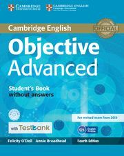 OBJECTIVE CAE 4ED SB/CD ROM/TESTBANK