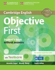 OBJECTIVE FIRST ST WITHOUT KEY+CD+TESTBANK 16