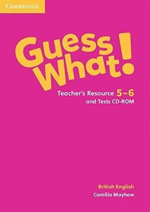 GUESS WHAT 5-6 TEACHERS TEST CD ROM
