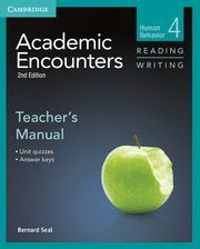 ACADEMIC ENCOUNTERS LEVEL 4 TEACHER´S MANUAL READING AND WRITING 2ND EDITION