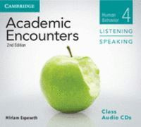 ACADEMIC ENCOUNTERS LEVEL 4 CLASS AUDIO CDS (3) LISTENING AND SPEAKING 2ND EDITION