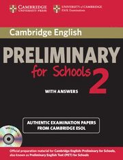 PRELIMINARY FOR SCHOOLS 2 WITH ANSWERS ST