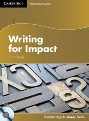 WRITING FOR IMPACT STUDENT´S BOOK WITH AUDIO CD