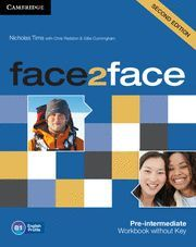 FACE2FACE PRE-INTERMEDIATE WORKBOOK WITHOUT KEY 2ND EDITION