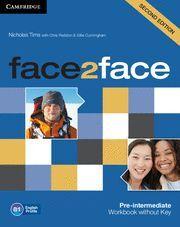 WB. FACE 2 FACE PRE-INTERMEDIATE