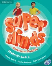 SUPER MINDS AMERICAN ENGLISH LEVEL 3 STUDENT´S BOOK WITH DVD-ROM