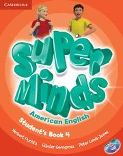 SUPER MINDS AMERICAN ENGLISH LEVEL 4 STUDENT´S BOOK WITH DVD-ROM
