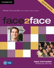 FACE 2 FACE UPPER INTERMEDIATE WORKBOOK WITH KEY WORKBOOK WITH KEY. B2