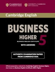 CAMBRIDGE ENGLISH BUSINESS 5 HIGHER STUDENT´S BOOK WITH ANSWERS