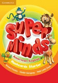 SUPER MINDS AMERICAN ENGLISH STARTER FLASHCARDS (PACK OF 78)