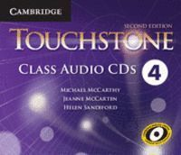 TOUCHSTONE LEVEL 4 CLASS AUDIO CDS (4) 2ND EDITION