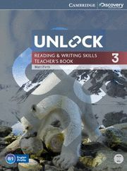 UNLOCK LEVEL 3 READING AND WRITING SKILLS TEACHER´S BOOK WITH DVD